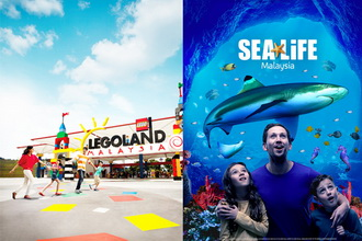 1-Day Combo E-Ticket (Theme Park + SeaLife)