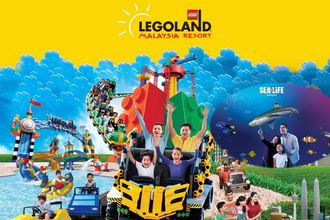1-Day Combo E-Ticket (Theme Park + Water Park + SeaLife)