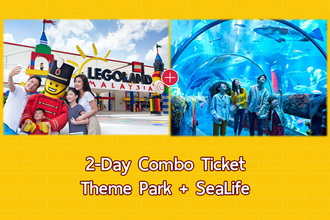 2-Day Combo E-Ticket (Theme Park + SeaLife)