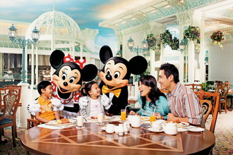 Hong Kong Disneyland - Dinner Buffet