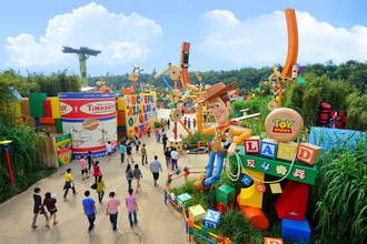 Hong Kong Disneyland - Toy Story Land