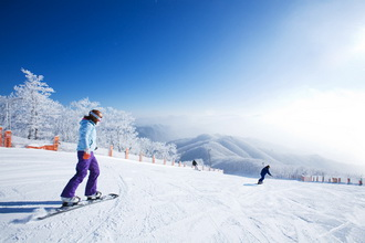 Ski Resort South Korea